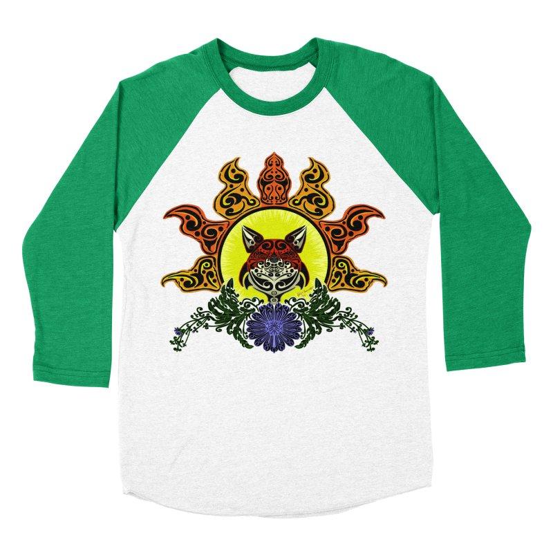 Fox Trybe Women's Baseball Triblend T-Shirt by Magickal Vision: The Art of Jolie E. Bonnette