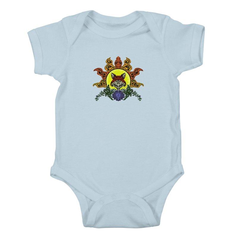 Fox Trybe Kids Baby Bodysuit by Magickal Vision: The Art of Jolie E. Bonnette