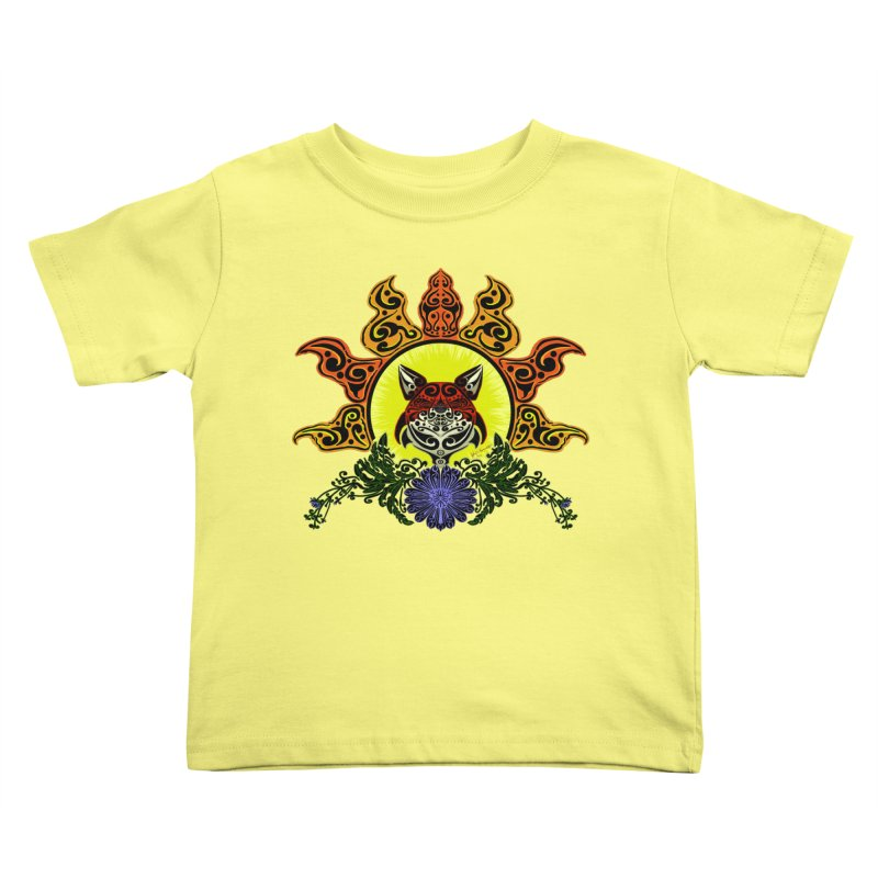 Fox Trybe Kids Toddler T-Shirt by Magickal Vision: The Art of Jolie E. Bonnette
