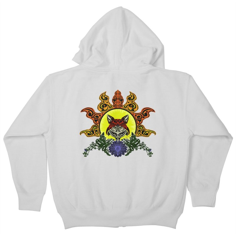 Fox Trybe Kids Zip-Up Hoody by Magickal Vision: The Art of Jolie E. Bonnette