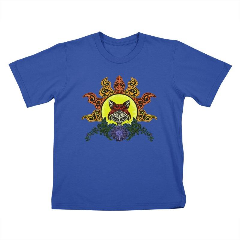 Fox Trybe Kids T-Shirt by Magickal Vision: The Art of Jolie E. Bonnette