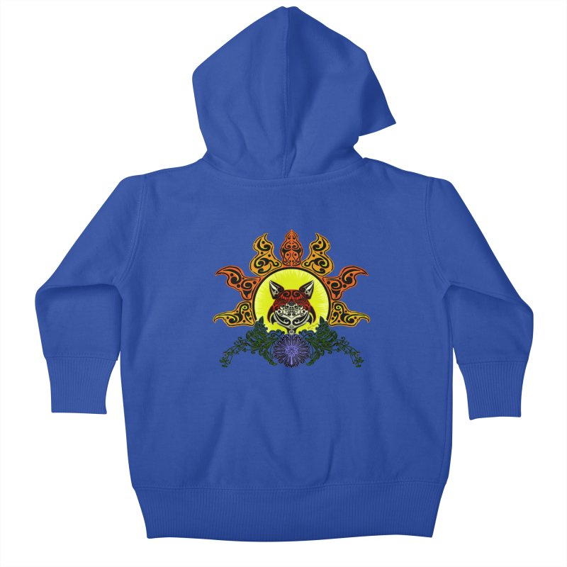 Fox Trybe Kids Baby Zip-Up Hoody by Magickal Vision: The Art of Jolie E. Bonnette