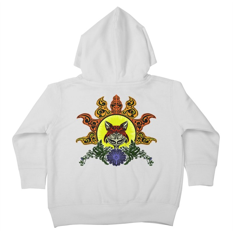 Fox Trybe Kids Toddler Zip-Up Hoody by Magickal Vision: The Art of Jolie E. Bonnette
