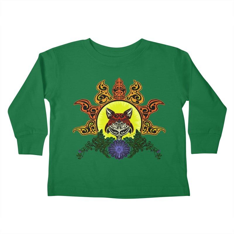 Fox Trybe Kids Toddler Longsleeve T-Shirt by Magickal Vision: The Art of Jolie E. Bonnette