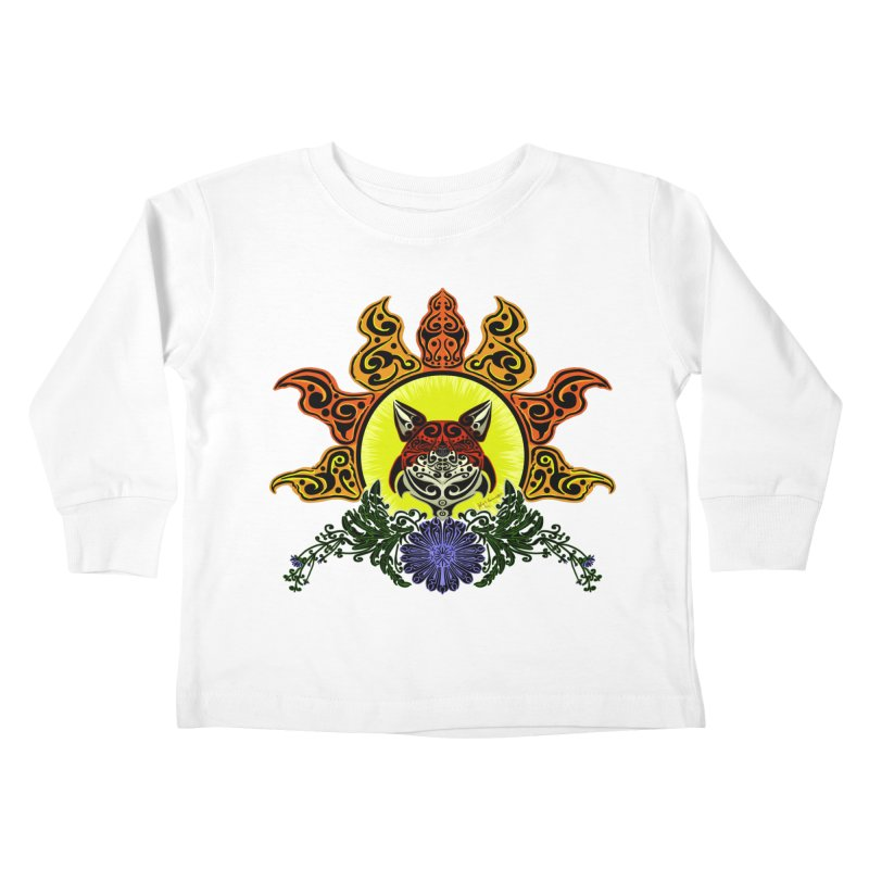 Fox Trybe Kids Toddler Longsleeve T-Shirt by Magickal Vision: The Art of Jolie E. Bonnette