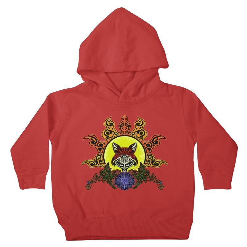 Fox Trybe Kids Toddler Pullover Hoody by Magickal Vision: The Art of Jolie E. Bonnette