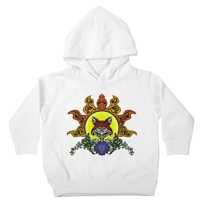 Fox Trybe Kids Toddler Pullover Hoody by Magickal Vision: The Art of Jolie E. Bonnette
