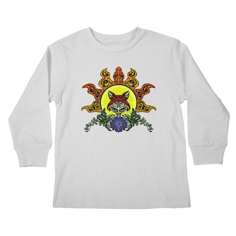 Fox Trybe Kids Longsleeve T-Shirt by Magickal Vision: The Art of Jolie E. Bonnette
