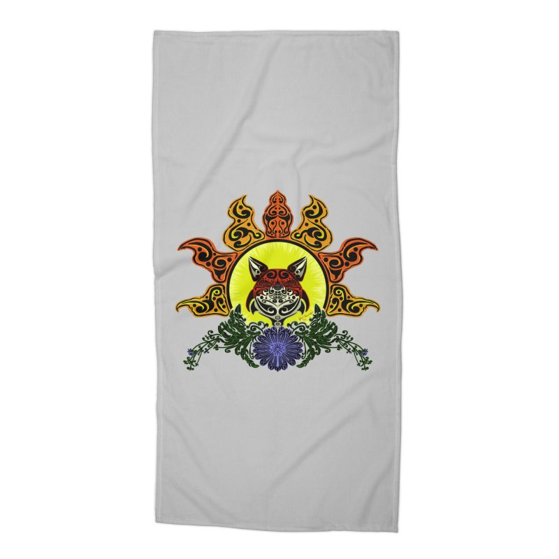 Fox Trybe Accessories Beach Towel by Magickal Vision: The Art of Jolie E. Bonnette