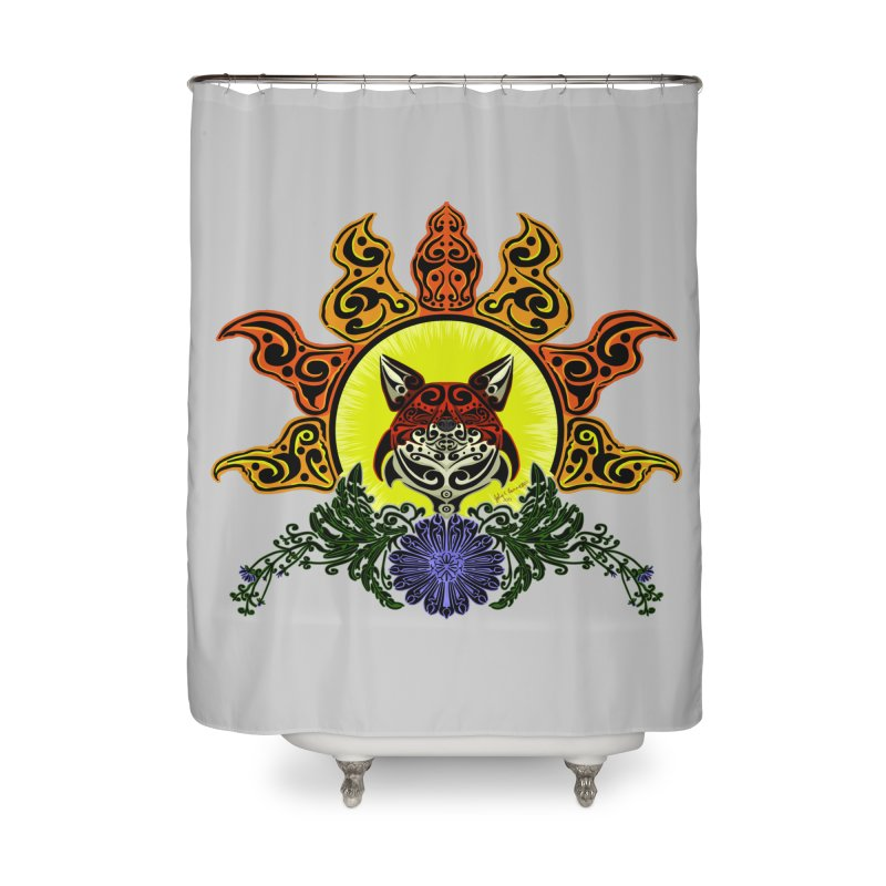 Fox Trybe Home Shower Curtain by Magickal Vision: The Art of Jolie E. Bonnette
