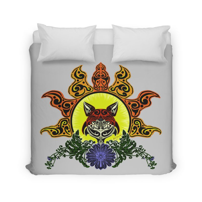 Fox Trybe Home Duvet by Magickal Vision: The Art of Jolie E. Bonnette