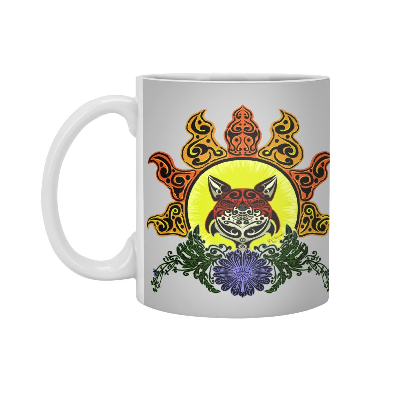 Fox Trybe Accessories Mug by Magickal Vision: The Art of Jolie E. Bonnette