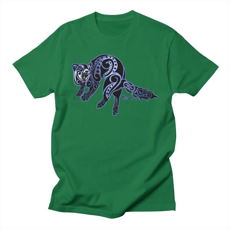 Ferret Trybe: War Dance! Women's Regular Unisex T-Shirt by Magickal Vision: The Art of Jolie E. Bonnette