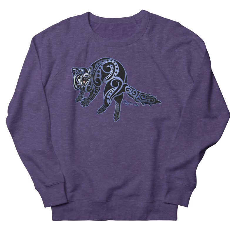 Ferret Trybe: War Dance! Women's Sweatshirt by Magickal Vision: The Art of Jolie E. Bonnette