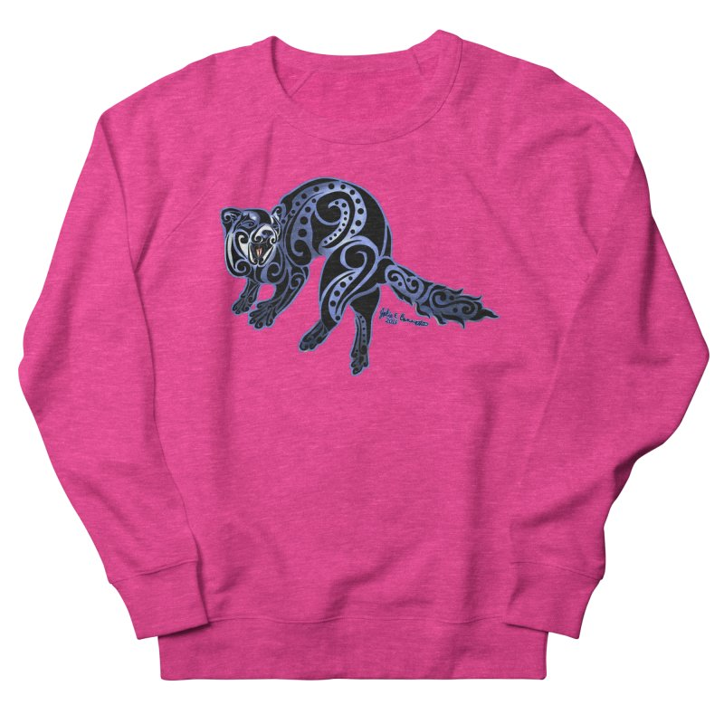 Ferret Trybe: War Dance! Women's Sweatshirt by Magickal Vision: The Art of Jolie E. Bonnette