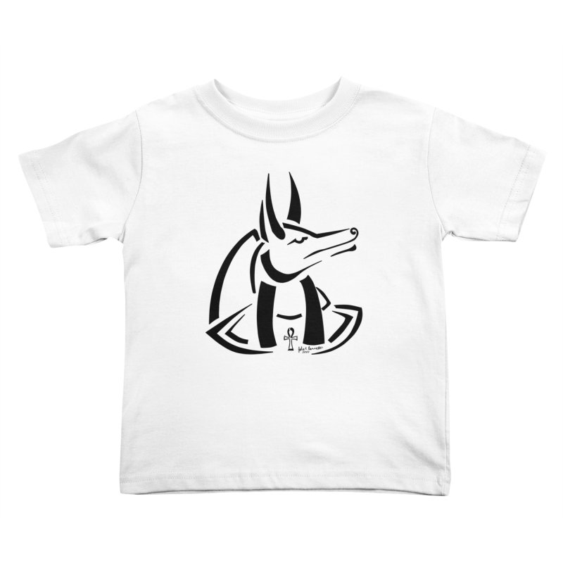 Anubis Kids Toddler T-Shirt by Magickal Vision: The Art of Jolie E. Bonnette