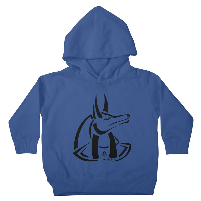 Anubis Kids Toddler Pullover Hoody by Magickal Vision: The Art of Jolie E. Bonnette