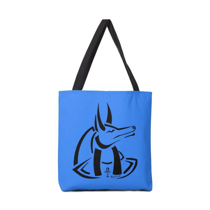 Anubis Accessories Bag by Magickal Vision: The Art of Jolie E. Bonnette