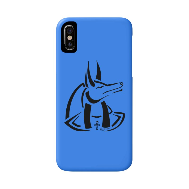 Anubis Accessories Phone Case by Magickal Vision: The Art of Jolie E. Bonnette