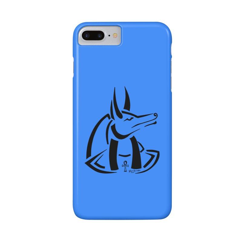Anubis Accessories Phone Case by Magickal Vision: The Art of Jolie E. Bonnette