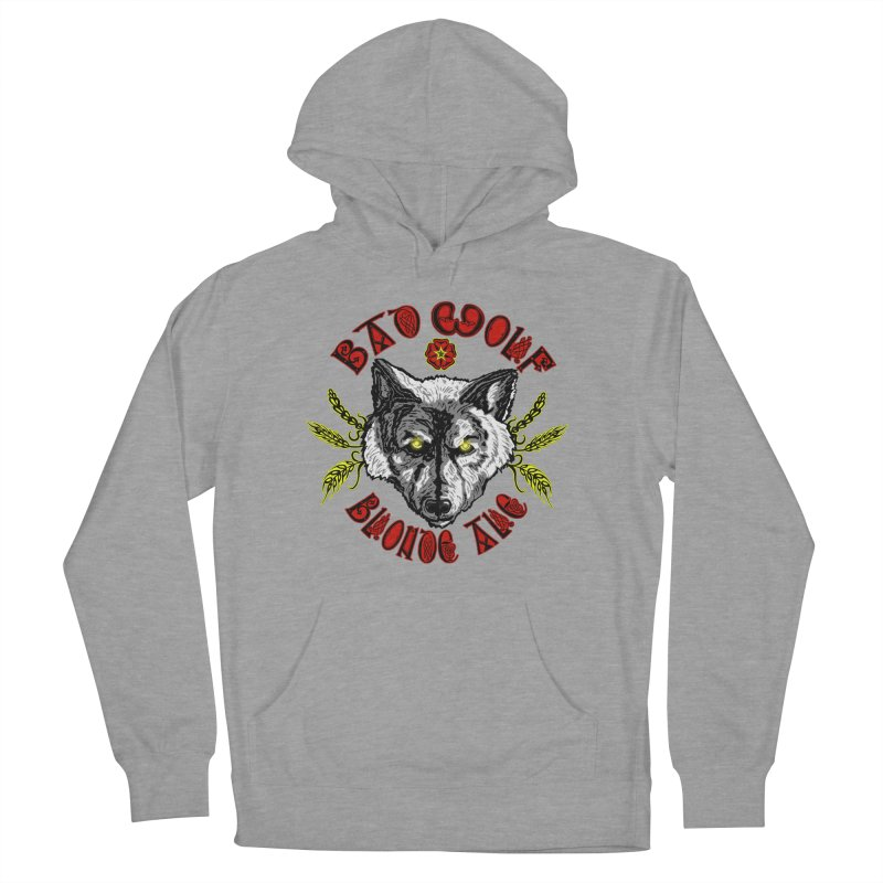 Bad Wolf Blonde Ale Men's Pullover Hoody by Magickal Vision: The Art of Jolie E. Bonnette