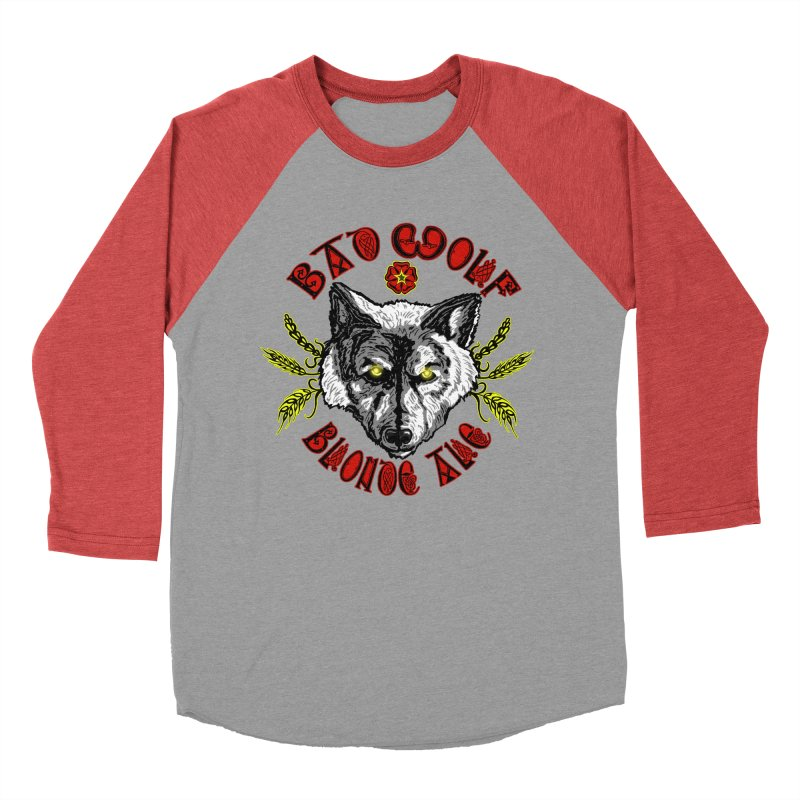 Bad Wolf Blonde Ale Men's Longsleeve T-Shirt by Magickal Vision: The Art of Jolie E. Bonnette