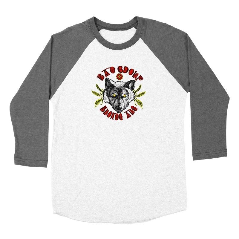 Bad Wolf Blonde Ale Women's Longsleeve T-Shirt by Magickal Vision: The Art of Jolie E. Bonnette