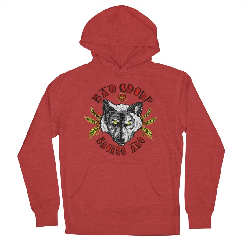 Bad Wolf Blonde Ale Women's French Terry Pullover Hoody by Magickal Vision: The Art of Jolie E. Bonnette