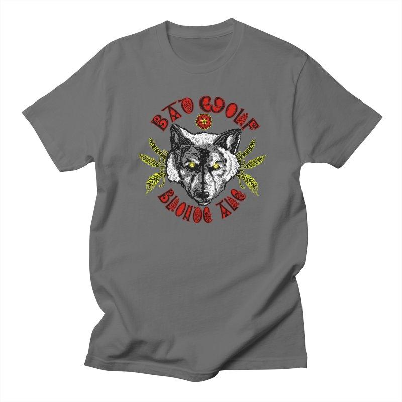 Bad Wolf Blonde Ale Women's T-Shirt by Magickal Vision: The Art of Jolie E. Bonnette