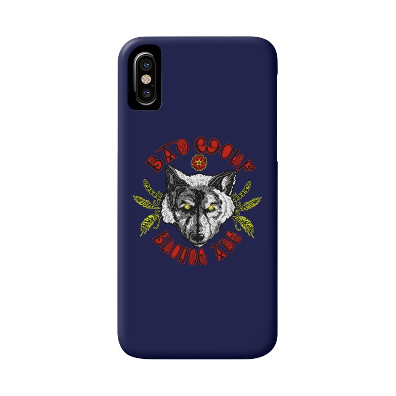 Bad Wolf Blonde Ale Accessories Phone Case by Magickal Vision: The Art of Jolie E. Bonnette