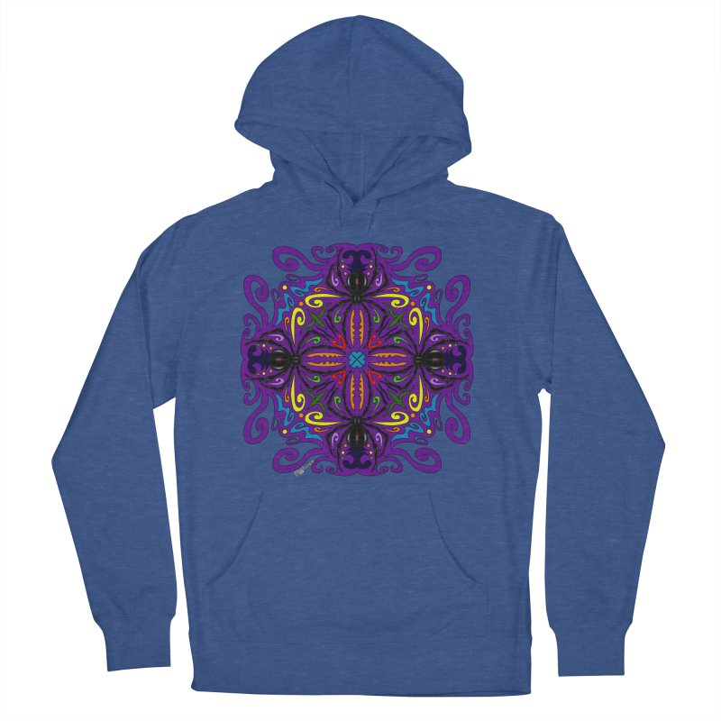 Arachnophobia Women's French Terry Pullover Hoody by Magickal Vision: The Art of Jolie E. Bonnette