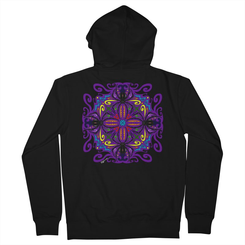 Arachnophobia Women's Zip-Up Hoody by Magickal Vision: The Art of Jolie E. Bonnette