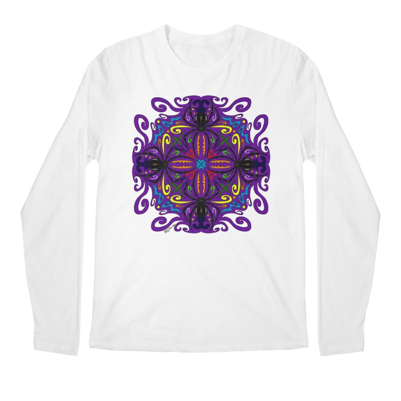 Arachnophobia Men's Regular Longsleeve T-Shirt by Magickal Vision: The Art of Jolie E. Bonnette