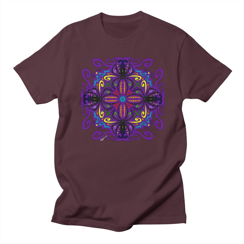 Arachnophobia Women's Regular Unisex T-Shirt by Magickal Vision: The Art of Jolie E. Bonnette
