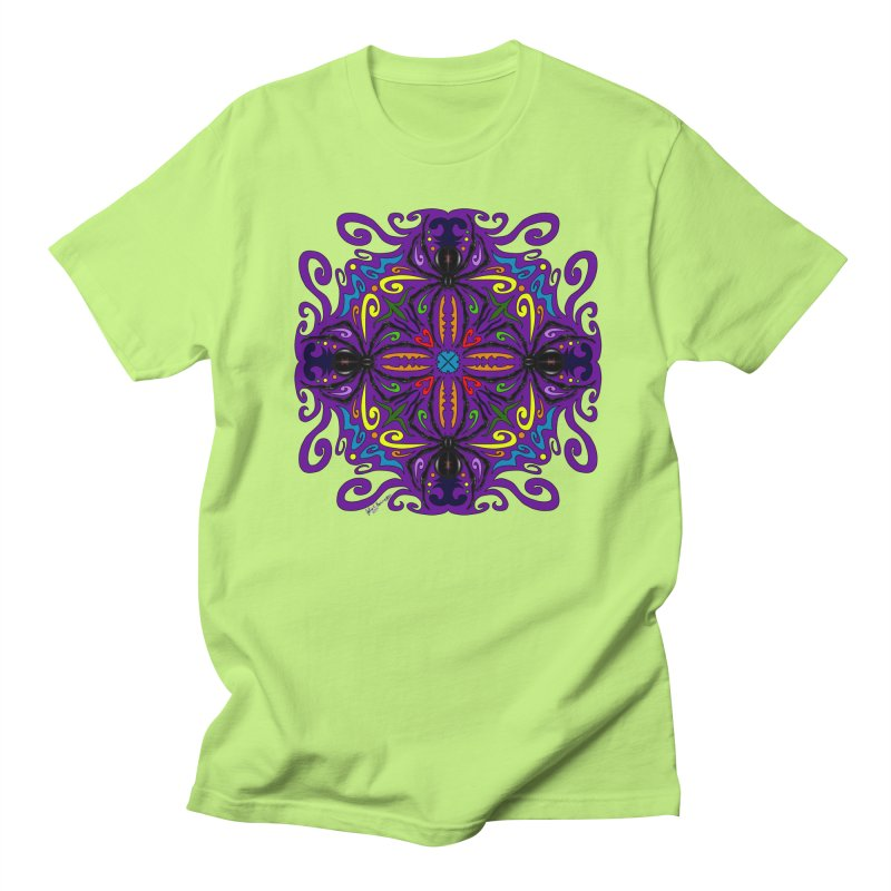 Arachnophobia Women's Regular Unisex T-Shirt by Magickal Vision: The Art of Jolie E. Bonnette