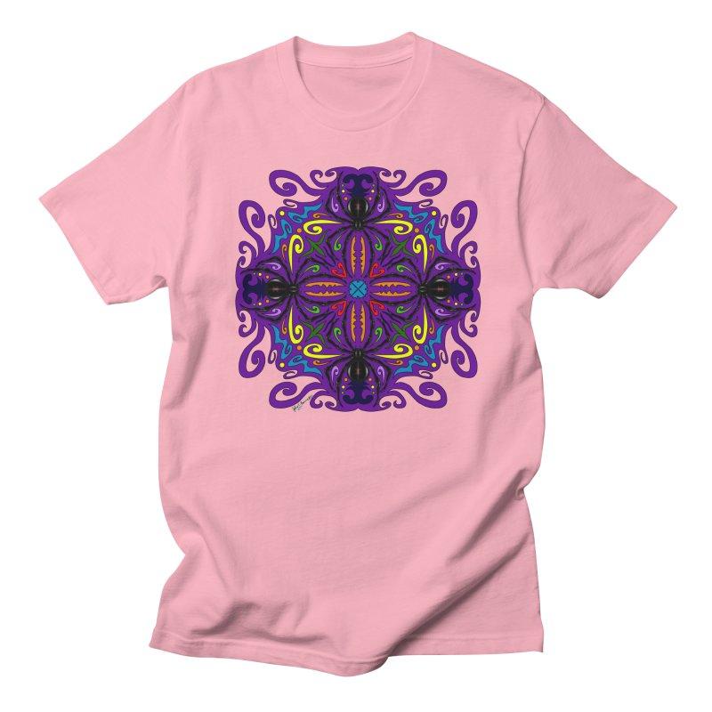 Arachnophobia Men's Regular T-Shirt by Magickal Vision: The Art of Jolie E. Bonnette