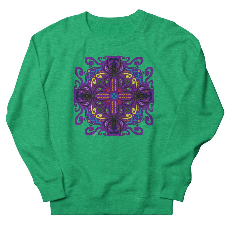 Arachnophobia Women's Sweatshirt by Magickal Vision: The Art of Jolie E. Bonnette