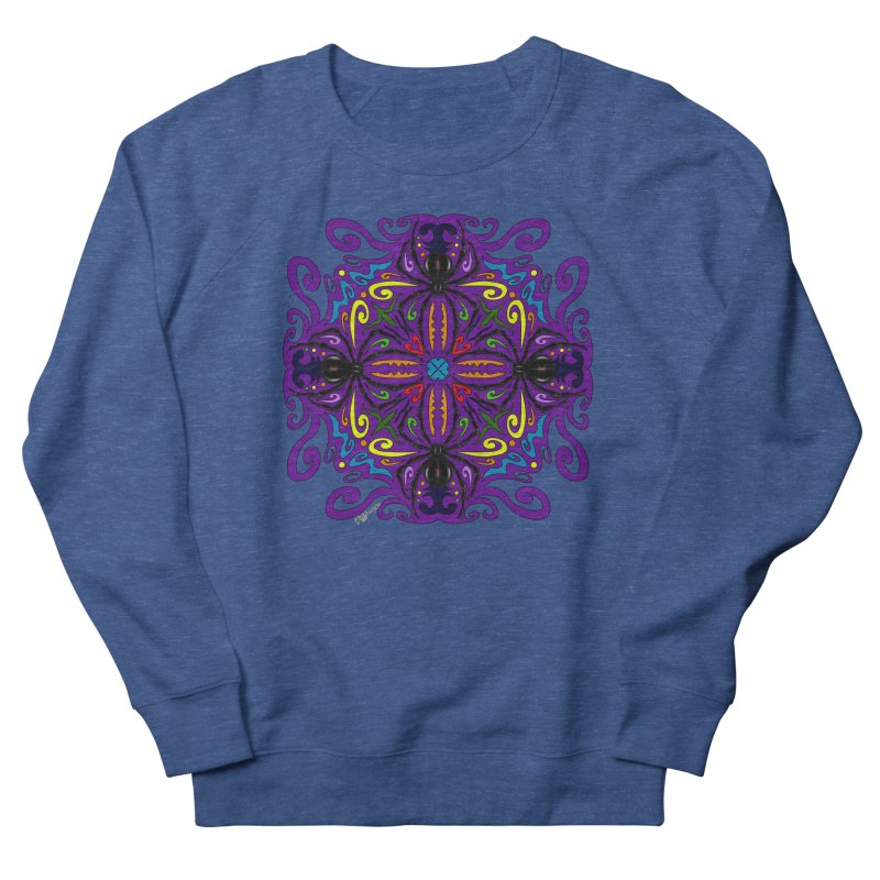 Arachnophobia Women's French Terry Sweatshirt by Magickal Vision: The Art of Jolie E. Bonnette