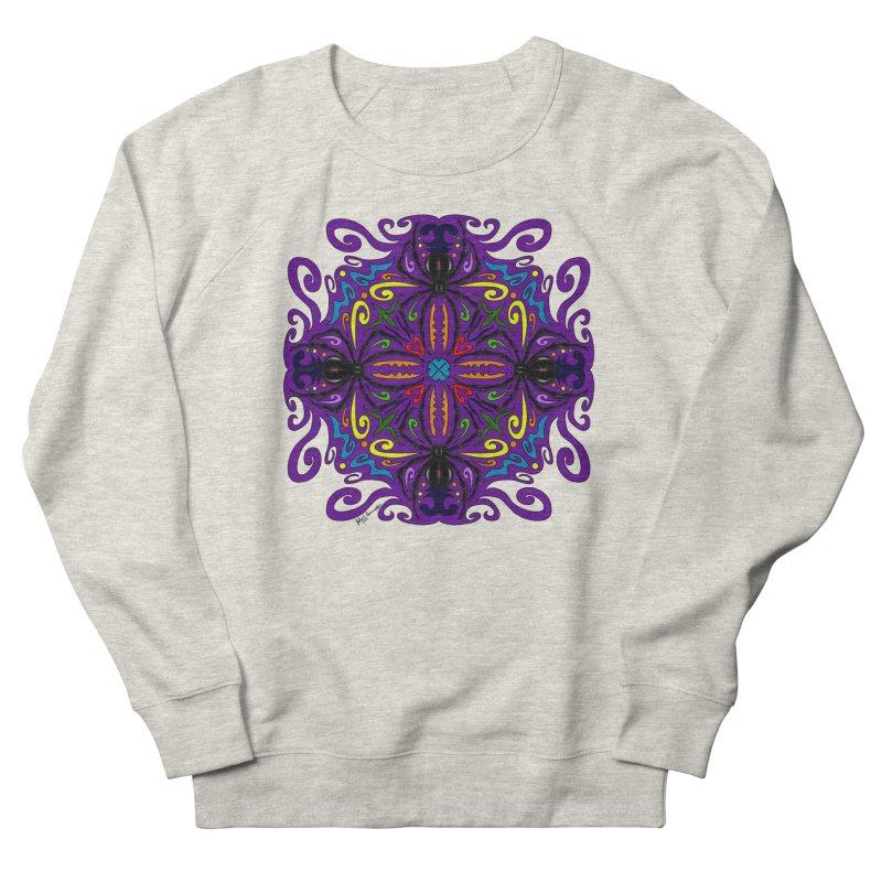 Arachnophobia Men's French Terry Sweatshirt by Magickal Vision: The Art of Jolie E. Bonnette