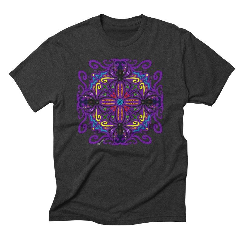 Arachnophobia Men's Triblend T-shirt by Magickal Vision: The Art of Jolie E. Bonnette