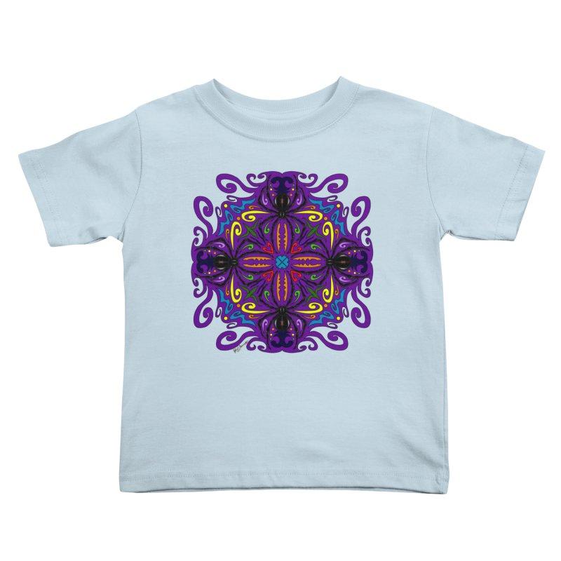 Arachnophobia Kids Toddler T-Shirt by Magickal Vision: The Art of Jolie E. Bonnette