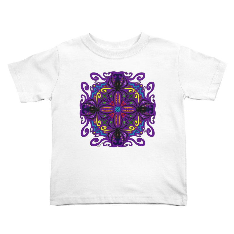 Arachnophobia Kids Toddler T-Shirt by Magickal Vision: The Art of Jolie E. Bonnette