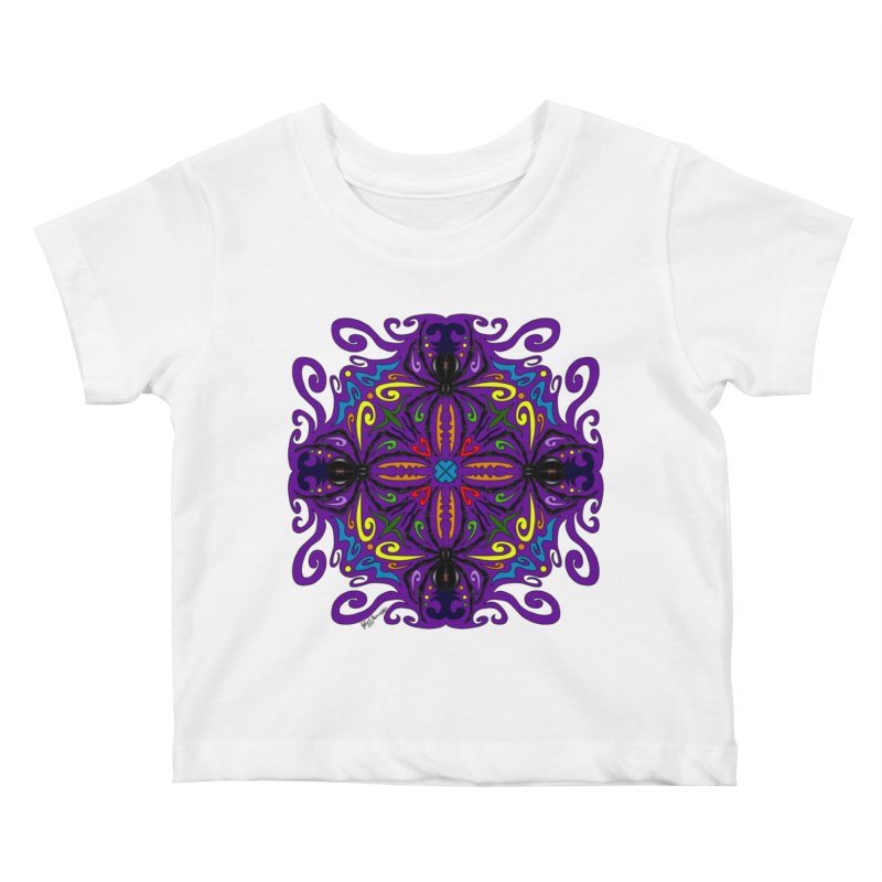 Arachnophobia Kids Baby T-Shirt by Magickal Vision: The Art of Jolie E. Bonnette