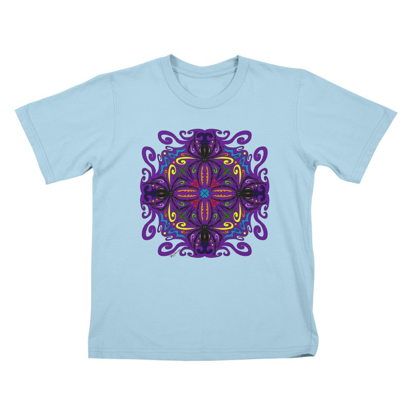 Arachnophobia Kids T-Shirt by Magickal Vision: The Art of Jolie E. Bonnette