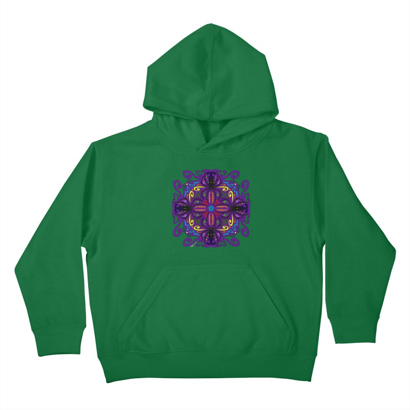 Arachnophobia Kids Pullover Hoody by Magickal Vision: The Art of Jolie E. Bonnette