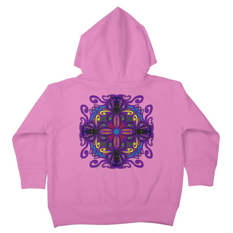 Arachnophobia Kids Toddler Zip-Up Hoody by Magickal Vision: The Art of Jolie E. Bonnette