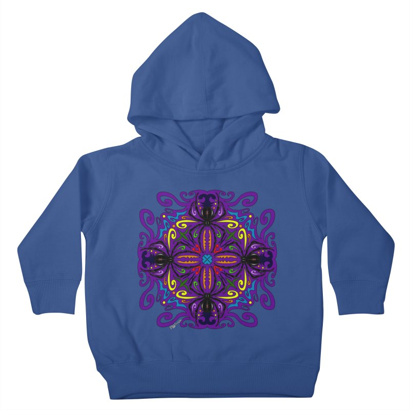 Arachnophobia Kids Toddler Pullover Hoody by Magickal Vision: The Art of Jolie E. Bonnette