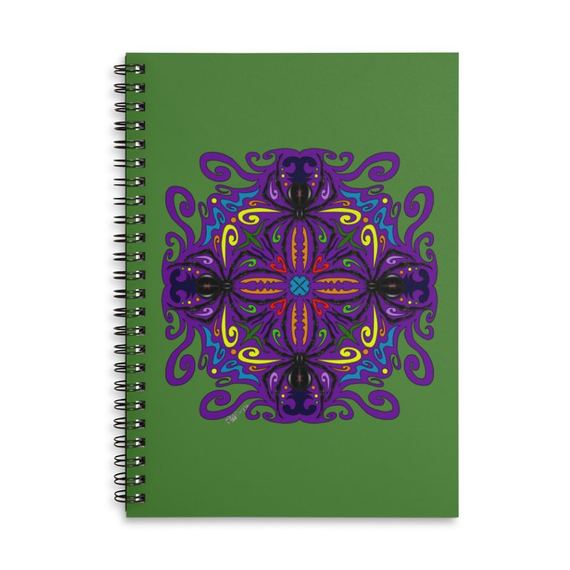 Arachnophobia Accessories Notebook by Magickal Vision: The Art of Jolie E. Bonnette