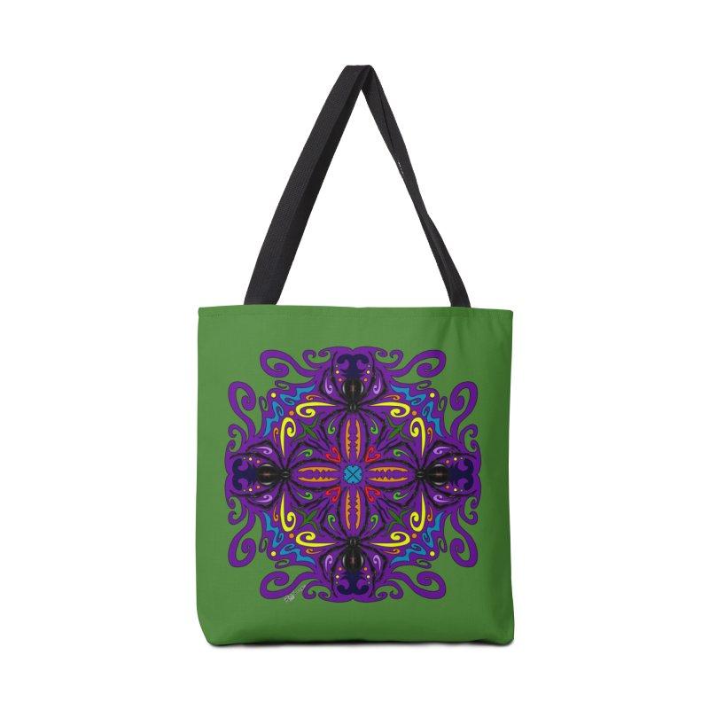 Arachnophobia Accessories Bag by Magickal Vision: The Art of Jolie E. Bonnette
