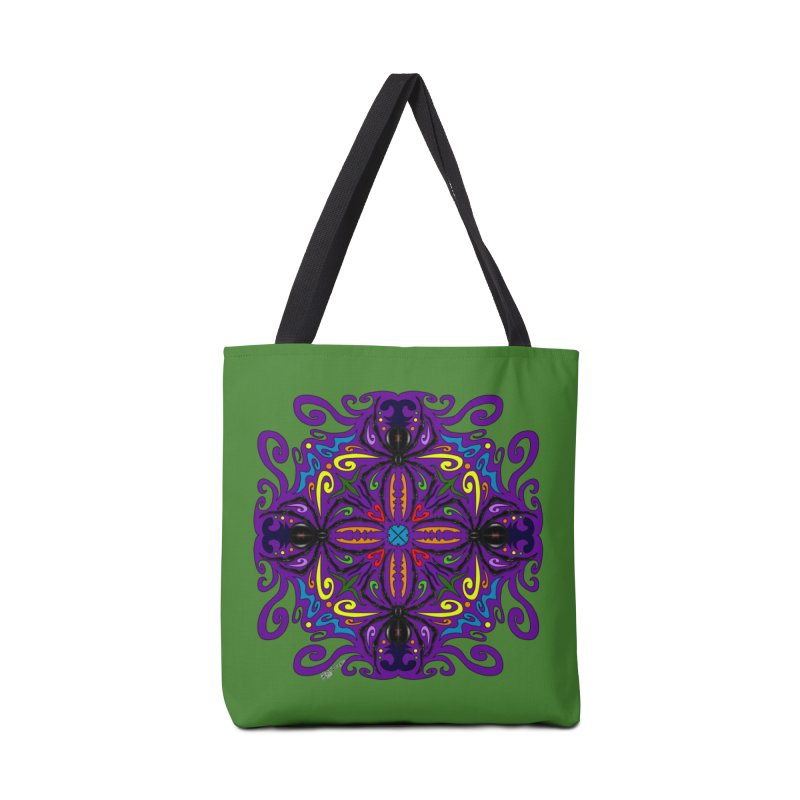Arachnophobia Accessories Bag by Magickal Vision: The Art of Jolie E. Bonnette
